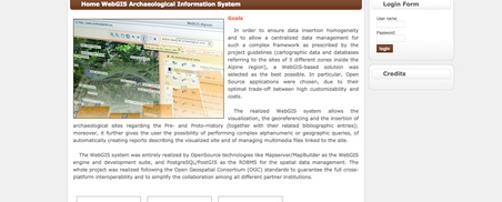 Archaeological Information System